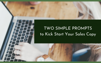 Get Un-Stuck in Your Writing With These Two Simple Prompts